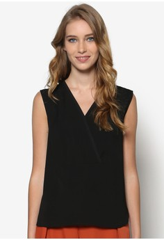 Collection Crossover Sleeveless Top