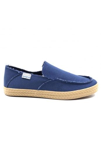 London Fashion blue Andie Slip-Ons Shoes         LO229SH43ZKAPH_1