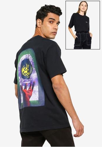 OBEY black Window Watcher Tee 1DBEDAA0E35E74GS_1