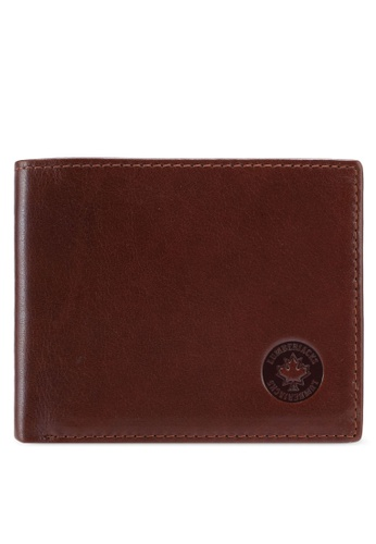Lumberjacks brown Lumberjacks Genuine Leather Bi-fold Wallet C8FD5ACCC2DE95GS_1