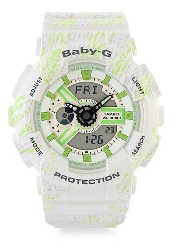 Baby-G white Women Analog Watches Ba-110Tx-7Adr 18949AC2D57BC2GS_1
