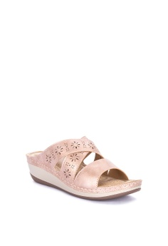2de0b011d 33% OFF Mnicole Slip On Wedge Php 1,499.00 NOW Php 999.00 Sizes 36 37 38 39  40