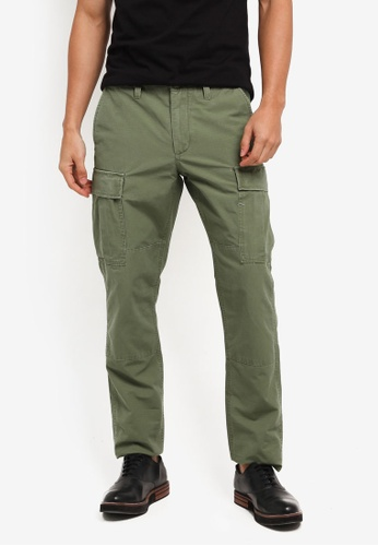 J.Crew green 770 Ripstop Cargo Pant B79F3AAFF4A423GS_1