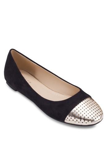 Kamilah 金屬esprit台灣網頁鞋頭平底鞋, 女鞋, 芭蕾平底鞋