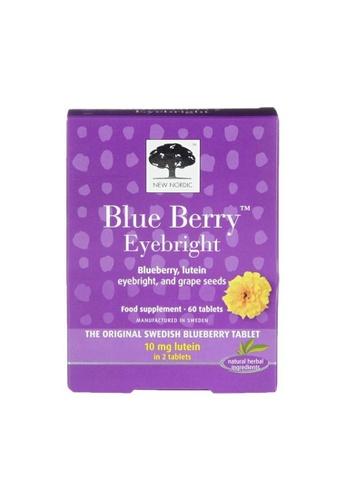 Holland & Barrett New Nordic Blue Berry Eyebright 60 Tablets 4838FES3C7D7BBGS_1
