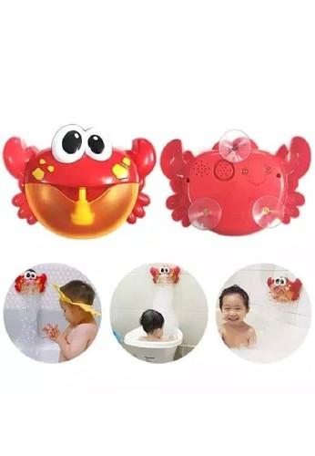 Toylogy multi Mainan Mandi Anak Bubble Maker Crab Bath Time Toy Kepiting Gelembung B0F9CTH650B947GS_1
