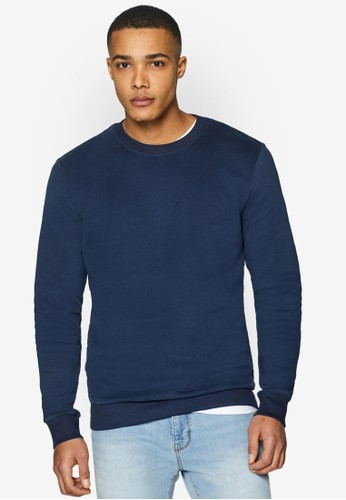 ESPRIT navy Long Sleeve Sweatshirt 7A9F0AA6A4BDF4GS_1