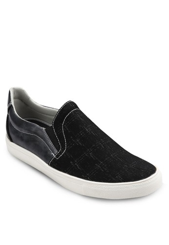 印花仿皮拼接懶人鞋, 鞋, 懶人esprit hong kong鞋