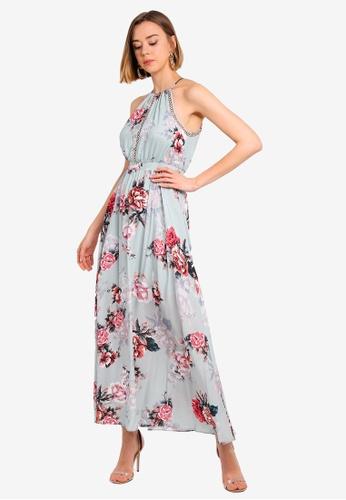 lovely luster best wholesaler aesthetic appearance Lydia Eyelet Detail Maxi Dress