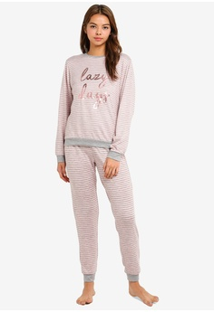 d4bf97db5e814 Dorothy Perkins pink Grey/Pink Lazy Days Twosie 519E1AA357C3DFGS_1