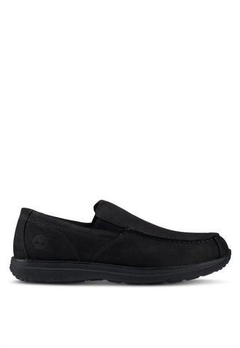 Timberland black Edgemont Moc Toe Slip-On EB4C0SHF6BECE5GS_1