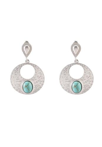 niko and ... blue Metallic Earrings 7D660ACB2A85BDGS_1