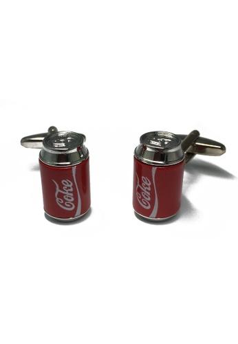 Splice Cufflinks Coke Can Cufflinks SP744AC11LPKSG_1
