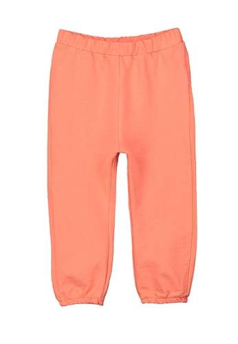 LC Waikiki orange Baby Girl's Sweatpants 051A6KA7DA934DGS_1