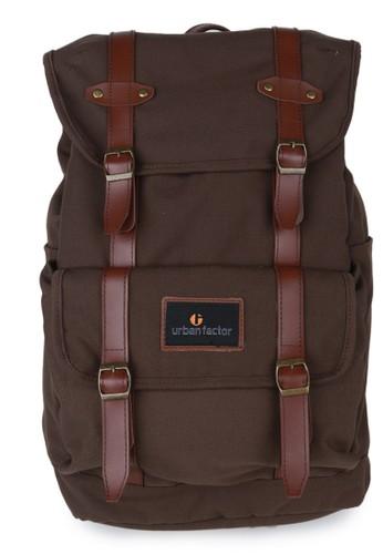 Urban Factor brown URBAN FACTOR Mix Up Backpack 24 L Brown UR024AC0U6QQID_1
