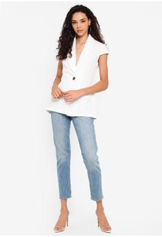 89a1067815a8 5% OFF Boohoo Cap Sleeve Shawl Collar Blazer RM 145.00 NOW RM 137.90 Sizes  6 8 10 12 14