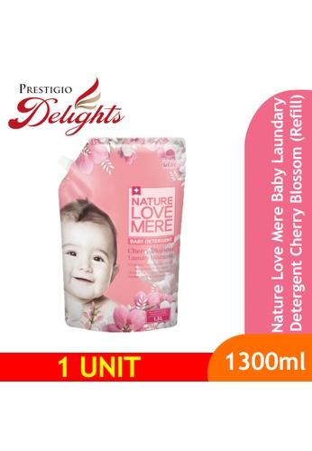 Prestigio Delights black Nature Love Mere Baby Laundry Detergent Cherry Blossom (Refill) 1300ml 2AE00ES94D9B0DGS_1
