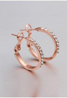 18k Rose Gold Plated Jane Earrings
