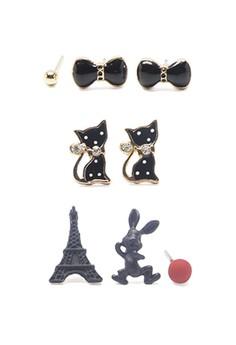 Earrings Set 6 (3 Pieces Set)