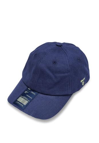 URBAN REVIVO blue Casual Baseball Cap A34B1ACB3C9792GS_1