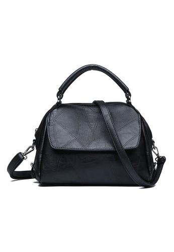 Lara black Women's Simple Hand Bag 5067BAC3DAA4D7GS_1