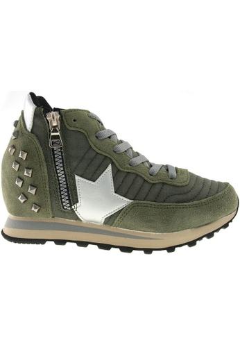 Maxstar Maxstar JO 6-Holes Tall Up Casual Studed Sneakers MA164SH14CJPSG_1