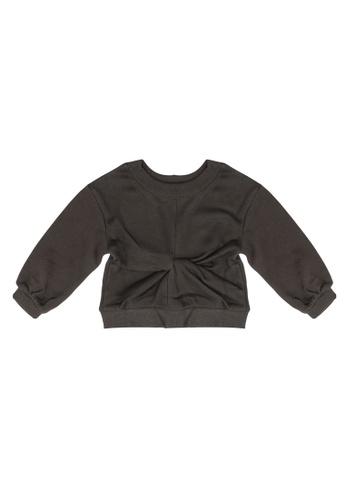 GLOBAL WORK grey Casual Knitted Sweatshirt 6165FKA9C80A4DGS_1