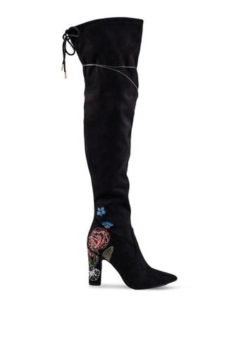 Guess black Fine Suede Boots GU020SH0RUTOMY_1