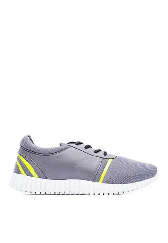Life8 灰色 MIT。奈米Ag+。網布。熱切工藝3D彈簧運動鞋-09472-灰色 LI216SH42KYBTW_1
