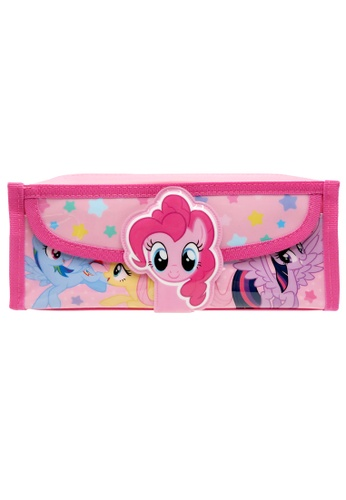My Little Pony My LIttle Pony Pink Pencil Bag With Pocket 7F95AKC209FD94GS_1