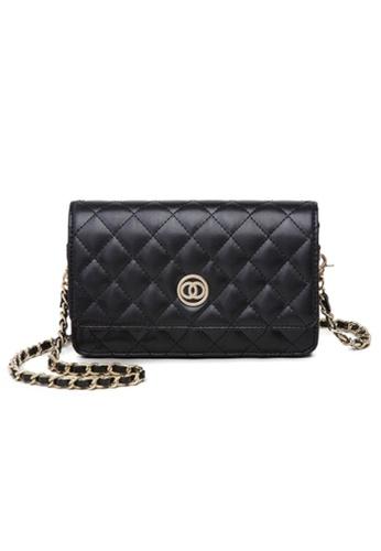 Trendyshop black Elegant Two Way Mini Shoulder Bag 3CD0CACB32E441GS_1