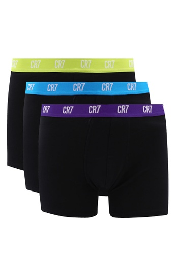 CR7 black CR7 Basic 3 Pack Trunks 1E7A9US2771B3FGS_1