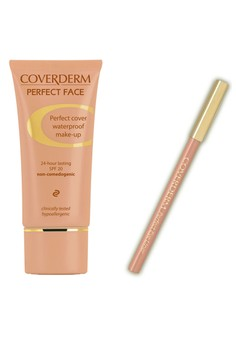 Coverderm Perfect Face with FREE Coverderm Eyeliner
