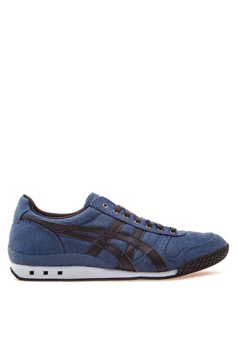 Onitsuka Tiger black and blue Ultimate 81 Lace-up Sneakers ON625SH25YVQPH_1