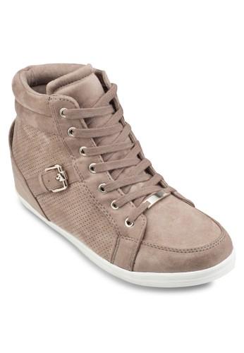 Gesprit 童裝ledien 麂皮高筒運動鞋, 女鞋, 鞋