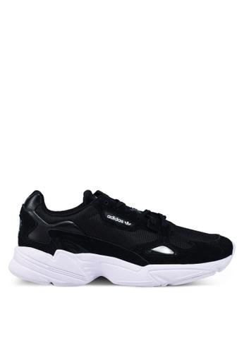 Falcon W Low top Sneakers Sort Adidas Originals