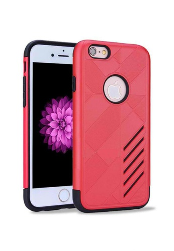 Nadjames orange Ultra Thin Shockproof Protective Hybrid TPU Cover Case for Apple iPhone 7 NA782AC89RSGPH_1