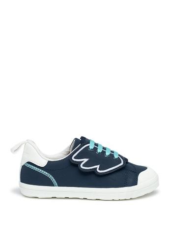 Fly Pony 海軍藍色 Unicorn 系列 Light Wing 深藍色休閒鞋 B8DA9KS226B874GS_1