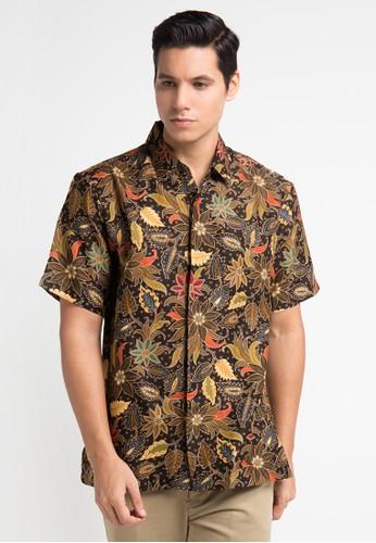 bhatara batik brown Sandy Shirt BH237AA0UQPZID_1