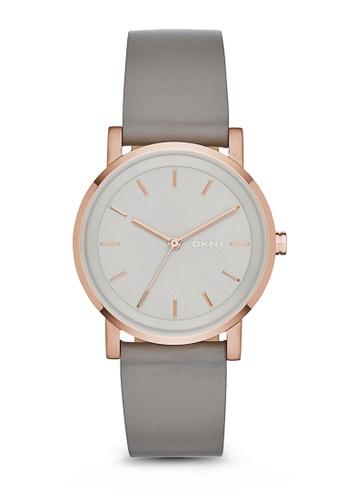 DKNY grey Soho Watch NY2341 DK097AC68WLFSG_1