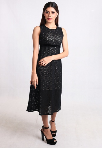 85290b9dda93 Buy East India Company Geonna Mid Length Lace Dress Online