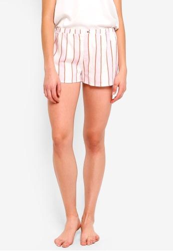 Cotton On Body pink and multi Woven Sleep Shorts FC5F9AA8F05B5DGS_1