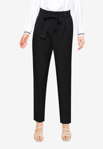 ONLY black Hero High Waist Pants DC843AA62BEDF3GS_1
