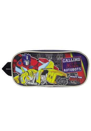 Transformers navy Transformers TFEG Double Zip Square Pencil Bag D0E46KC0276E08GS_1