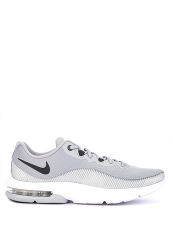 Nike grey Nike Air Max Advantage 2 Shoes 0763ESH1F1DDEFGS_1