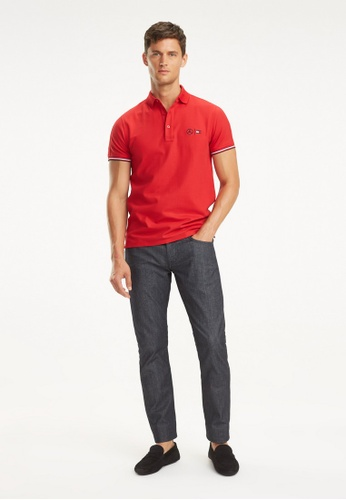 new styles e0d97 98346 Buy Tommy Hilfiger 2 Mb Mercedes Polo Online on ZALORA Singapore
