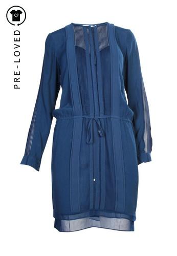 Diane Von Furstenberg blue Pre-Loved diane von furstenberg Blue Dress 724C6AAB2C9B14GS_1