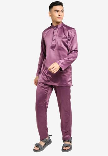 REALFANTASY purple BAJU MELAYU SHAH ISKANDAR 0DD6CAA6F41D11GS_1