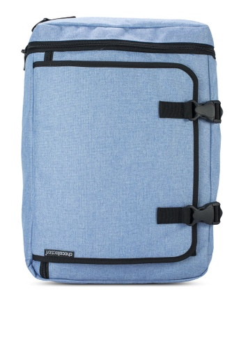 Chocollection blue Madison 2-Ways Backpack CH825AC37GTEHK_1