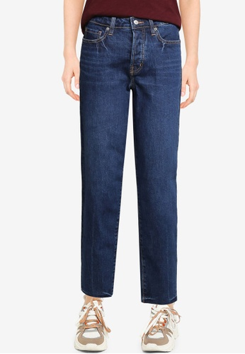 Old Navy blue Straight Fit Jeans 0D2A5AAA62634DGS_1